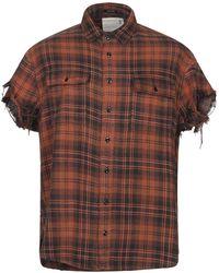 R13 Shirt - Brown