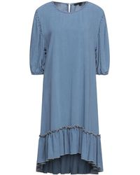 True Religion Midi Dress - Blue