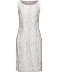 Angelo Marani Knee-length Dress - Grey