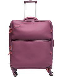 Mandarina Duck Wheeled Luggage - Purple