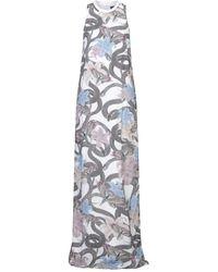 Marcelo Burlon Long Dress - White