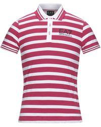 EA7 Polo Shirt - Red