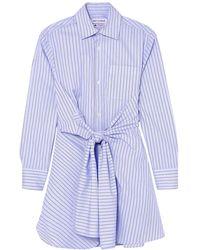Wright Le Chapelain Camisa - Azul
