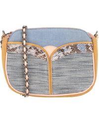 Sessun Cross-body Bag - Blue