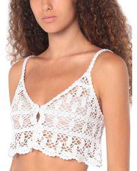 Anna Kosturova Strandkleid - Weiß