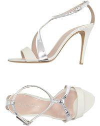 Dimattia Sandals - White