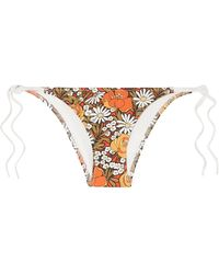 Solid & Striped X Re/Done Bikini Bottom - Orange