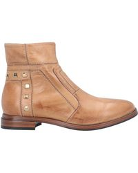 Fabi Ankle Boots - Natural