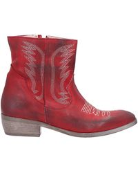 Divine Follie Ankle Boots - Red