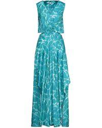 Maje Long Dress - Blue