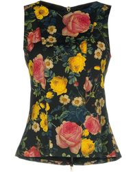 6a71f59b39d96 Lyst - Women s Fausto Puglisi Sleeveless and tank tops On Sale