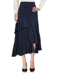 J.won - 3/4 Length Skirt - Lyst