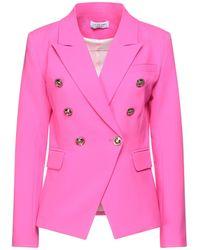 Odi Et Amo Suit Jacket - Pink
