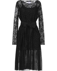 Carla G Knee-length Dress - Black