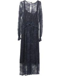 Shirtaporter Vestito longuette - Blu