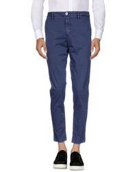 Aglini Casual Trouser - Blue