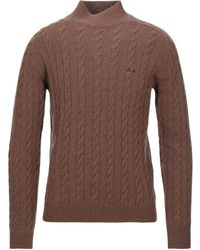 Sun 68 Turtleneck - Brown