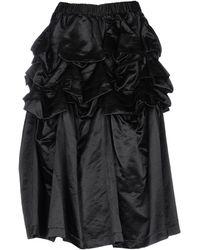 Comme des Garçons 3/4 Length Skirt - Black