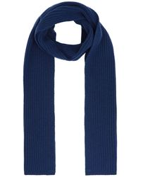 8 by YOOX Scarf - Blue