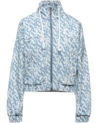 Karlkani Manteau en jean - Bleu