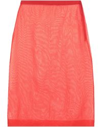 Miu Miu - 3/4 Length Skirt - Lyst