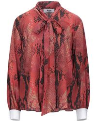 MSGM Blouse - Red