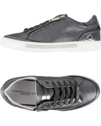 Alessandro Dell'acqua Low Sneakers & Tennisschuhe - Grau