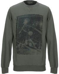 Athletic Vintage Sweatshirt - Green