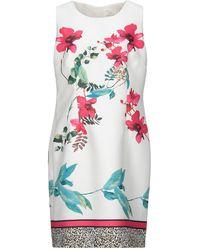 Lafty Lie Short Dress - White