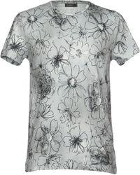 Jil Sander - Printed Cotton T-shirt - Lyst