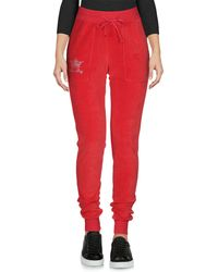 Mia Bag Trousers - Red