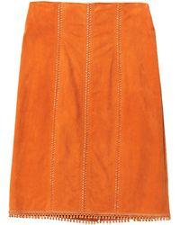 Jitrois Midi Skirt - Orange
