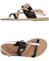 Peter Pilotto - Toe Strap Sandals - Lyst