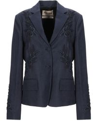 Roberto Cavalli Suit Jacket - Blue