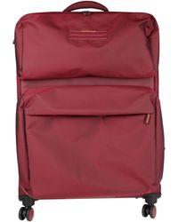 Mandarina Duck Wheeled Luggage - Red