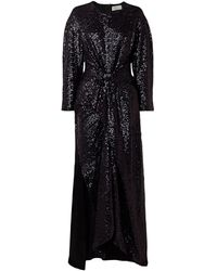 Preen By Thornton Bregazzi Vestido largo - Negro