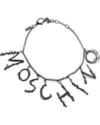 Moschino Necklace - Black