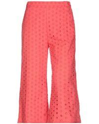 Ottod'Ame 3/4-length Short - Pink
