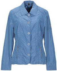 BARBARA LEBEK Overcoat - Blue