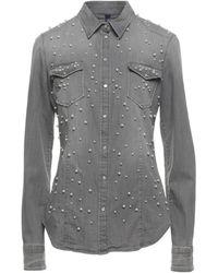 Liu Jo Denim Shirt - Gray