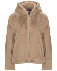 Vince Teddy Coat - Natural