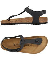 Birkenstock Toe Strap Sandal - Black