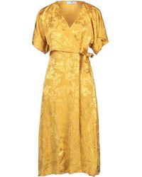Massimo Rebecchi 3/4 Length Dress - Yellow