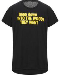 Ann Demeulemeester Camiseta - Negro