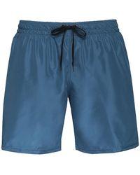 8 by YOOX Swim Trunks - Blue