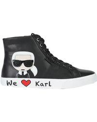 Karl Lagerfeld Trainers - Black