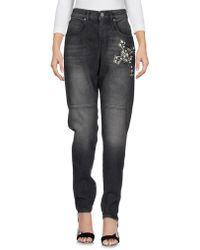 Pinko Denim Trousers - Black