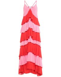 Ainea Vestido largo - Rojo