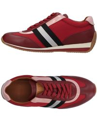 Bally Low Sneakers & Tennisschuhe - Rot