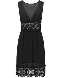 Carla G Short Dress - Black